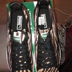 e24e939858bc ... Puma Shoes - 🦓Puma Clyde Suits Zebra Print🦓 Animal Pk